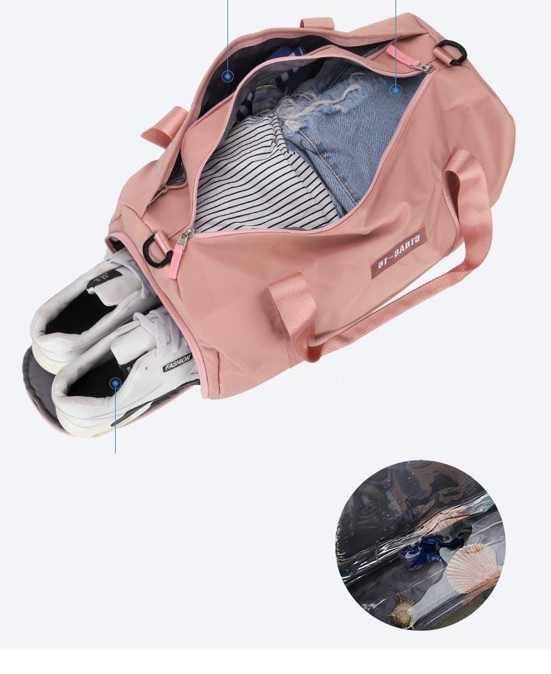 Túi trống vải  Du Lịch Đựng Giày Quần áo Behold hà quốc KNS89 Shalla (túi trống vải nguồn giá sỉ)