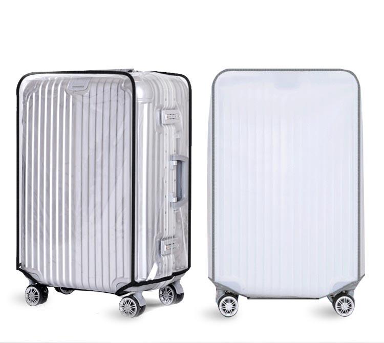 Bao trùm bọc vali nhựa 28 inch cao cấp trong suốt SWE98 Shalla (bao trùm bọc vali chuyên giá sỉ)