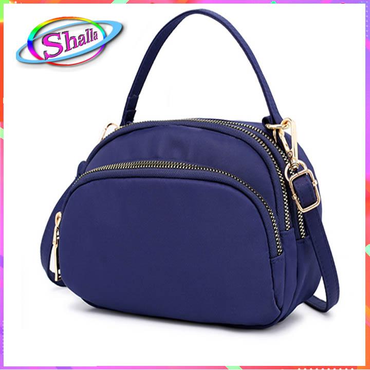 Túi đeo chéo cao cấp hình bầu trơn thời trang IOU7 shalla (túi đeo chéo nguồn giá sỉ)