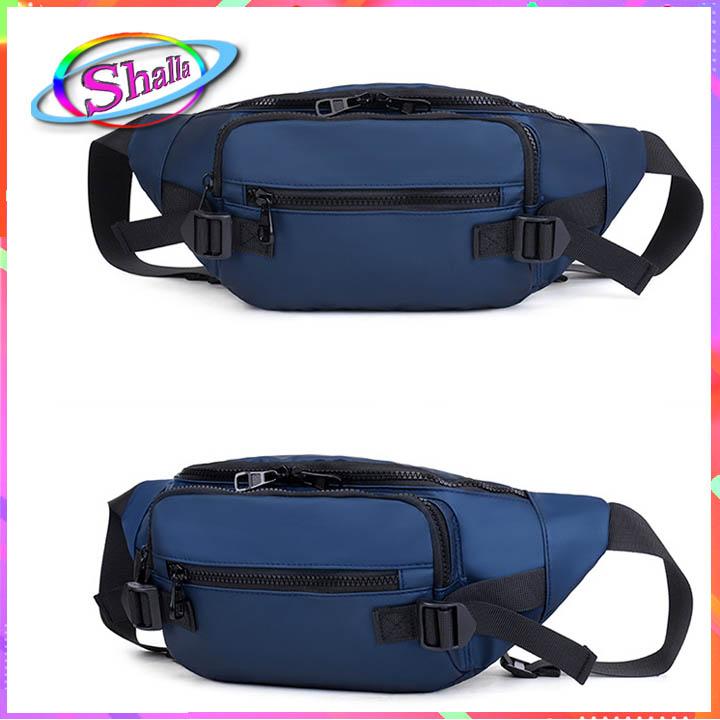 Túi đeo hông nam nữ da bóng nước M9 hàn quốc FFG5 Shalla [túi đeo hong nam nữ giá sỉ]