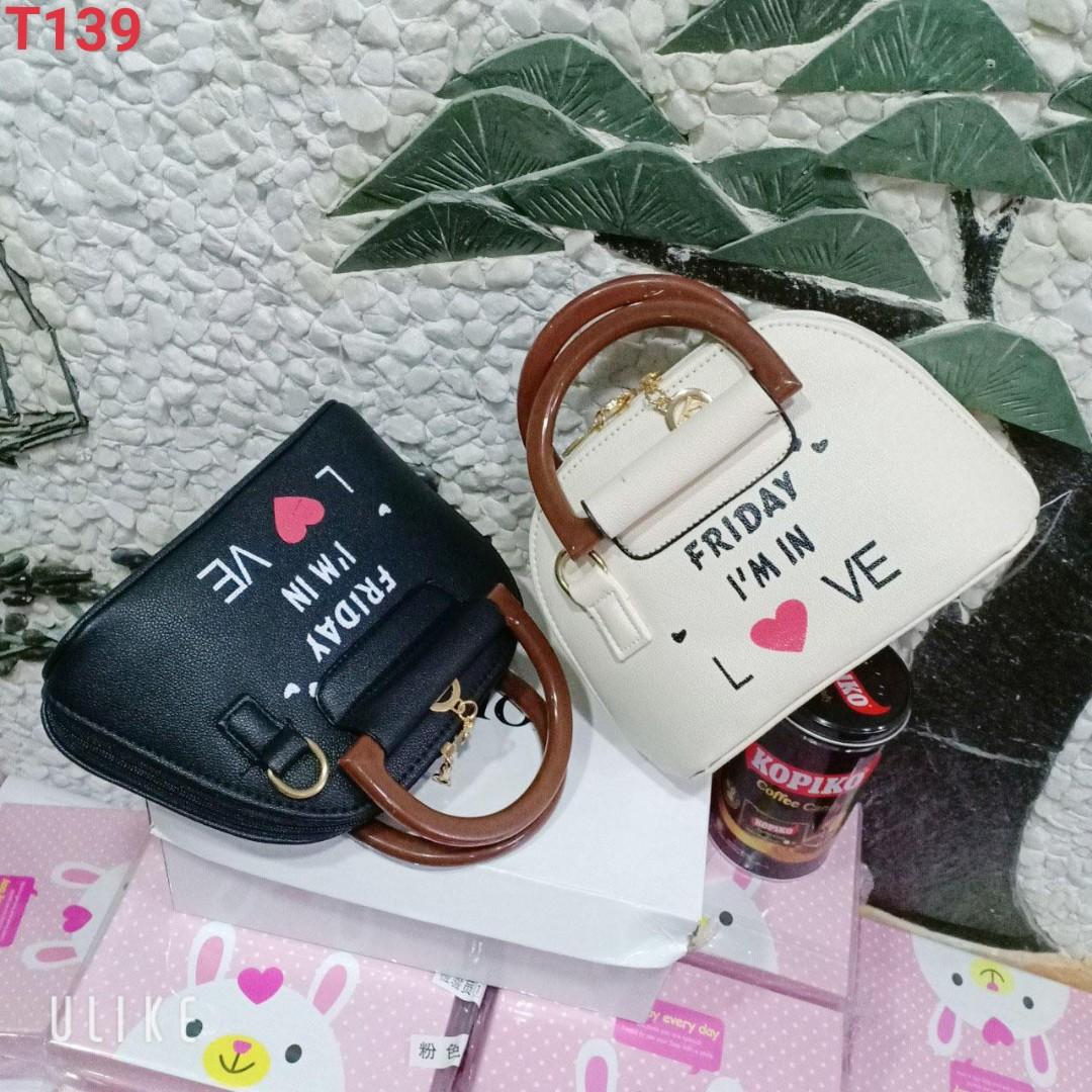 Túi xách đeo vai đầm tiệc quai gỗ chữ love cao cấp KIU6 Shalla [túi xách nữ đeo vai hàng giá sỉ rẻ]  túi xách sỉ số lượng lớn