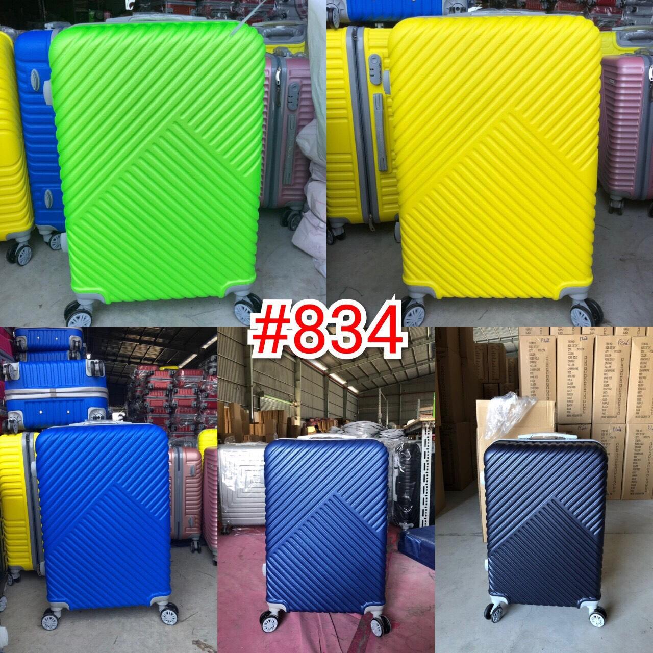 Vali nhựa (834) 20 inch tìm nhà phân phối vali nhựa