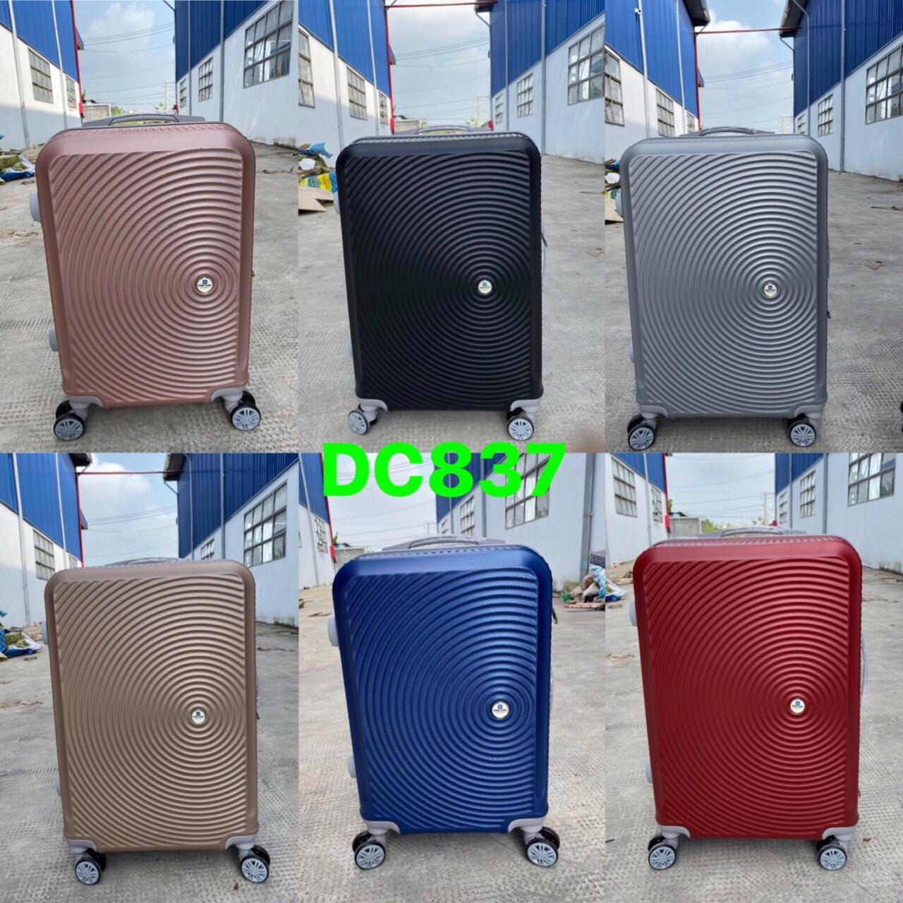 vali nhựa giá rẻ (837) 24 inch  vali sỉ toàn quốc giá rẻ.