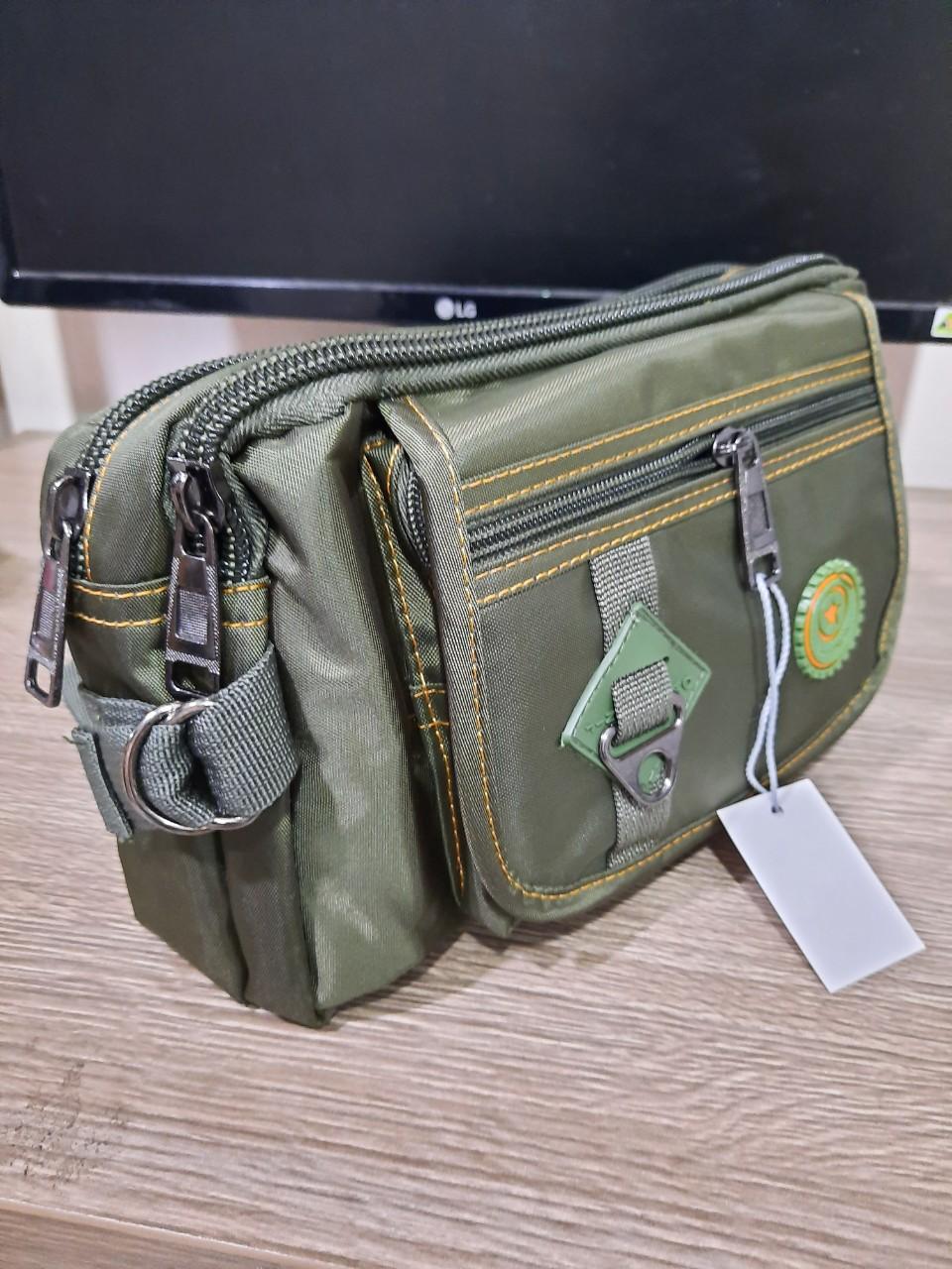 Túi đeo bụng TĐ 5520 dạng lớn siêu bền KS987 Shalla ( túi đeo bụng sỉ số lượng lớn)