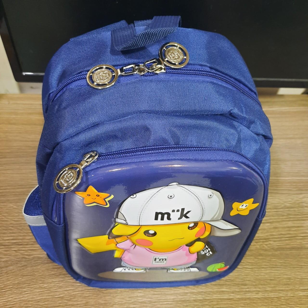 Balo đi học trẻ em thời trang Hình Pikechu siêu đẹp M21 Shalla HK2 (balo đi học trẻ em giá sỉ)
