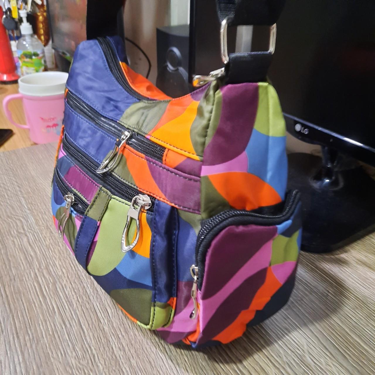 Túi đeo chéo đeo vai cổ điển sắc mùa thời trang dạo phố SK3 Shalla (Túi đeo chéo đeo vai nguồn sỉ)