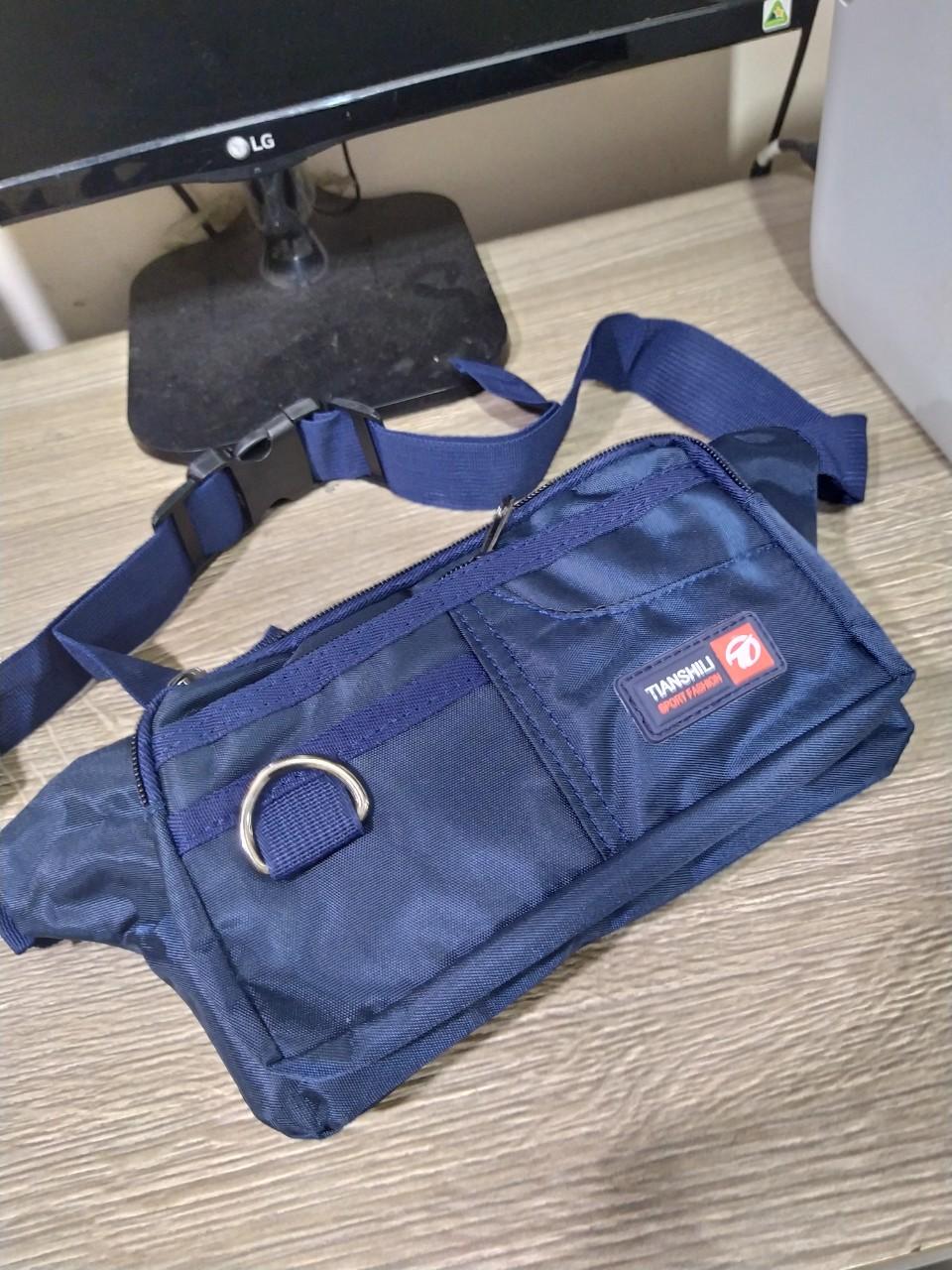Túi đeo chéo bao tử Shilie thời trang cao cấp siêu bền KMS2 Shalla(túi đeo chéo bao tử shilie nguồn sỉ)