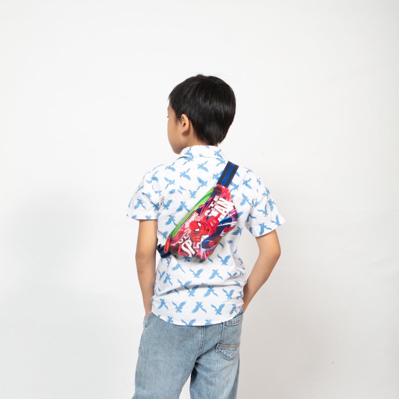 Đeo chéo đeo vai cho bé Hình Nơ hello ngây ngô đa sắc DF34 Shalla ( Chuyên đeo chéo giá rẻ )