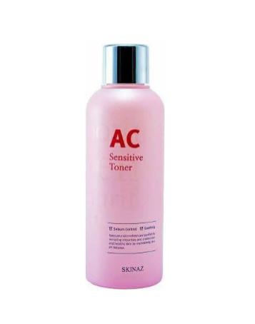 Nước hoa hồng Skinaz AC Sensitive Toner 180ml - Skinaz Korea