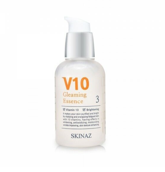 Skinaz V10 Gleaming Essence - Tinh chất dưỡng trắng da