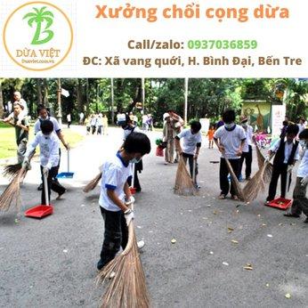 Cung cấp chổi quét trường học ở An Giang