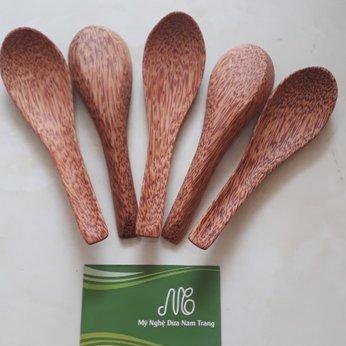 Muỗng gỗ dừa 15.5cm
