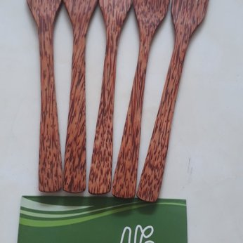 Nĩa gỗ dừa 3 răng