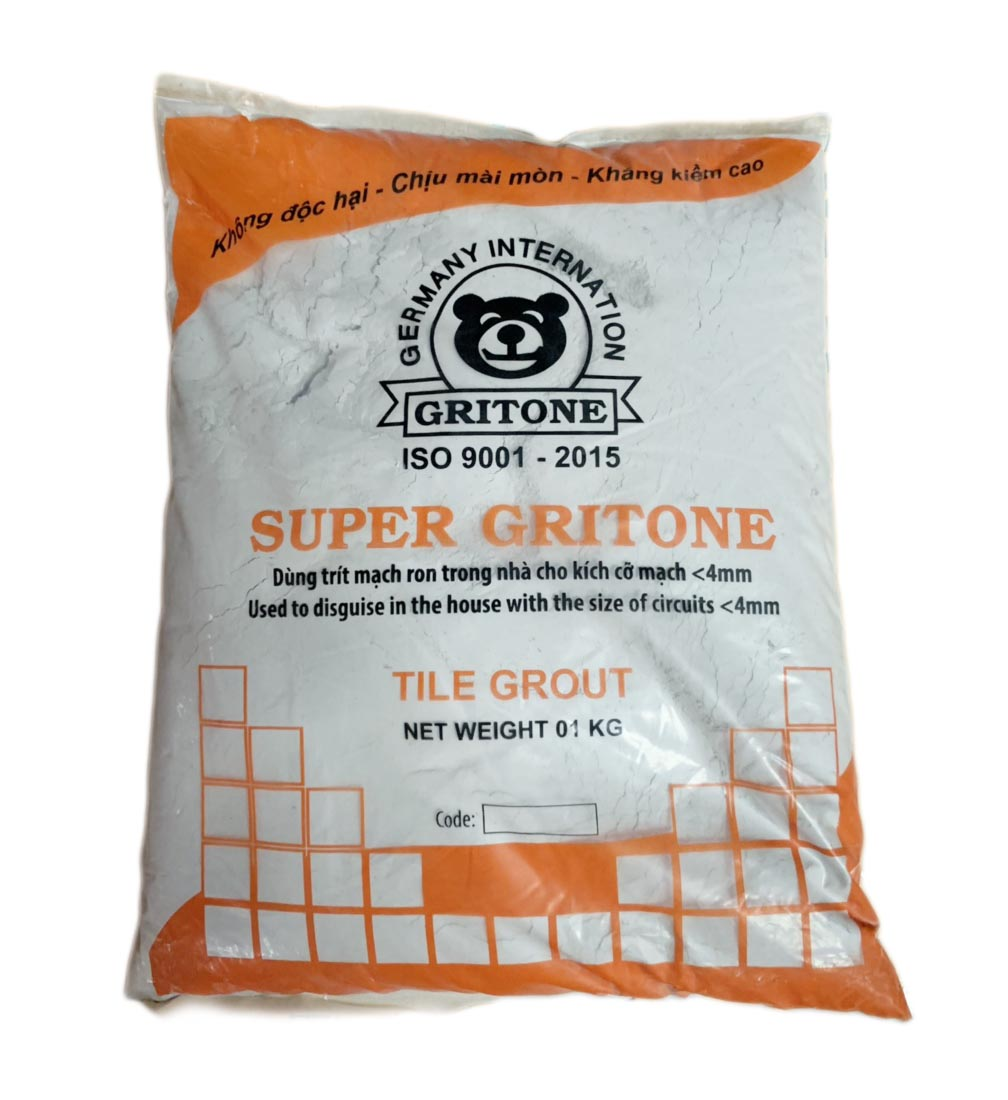 Keo chà ron Super Gritone màu xám SP-05 ( Gói / Kg)