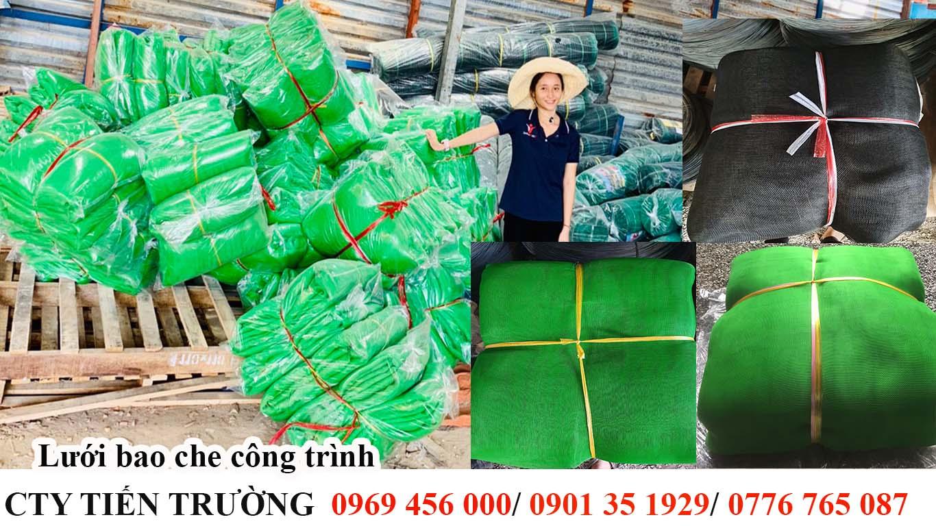 Lưới Bao Che Công Trình Khổ 4M dài 40M - Màu xanh