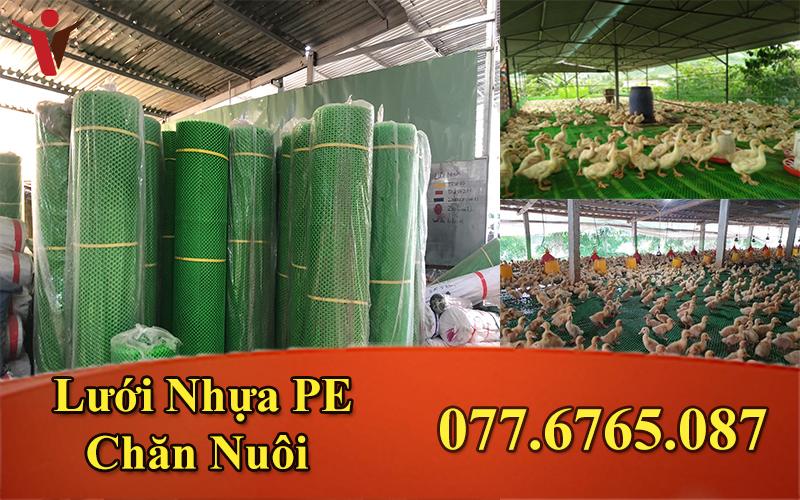 Lưới Nhựa PE Xanh Trung 1.5M/2P ( 45 - 52 Kg)