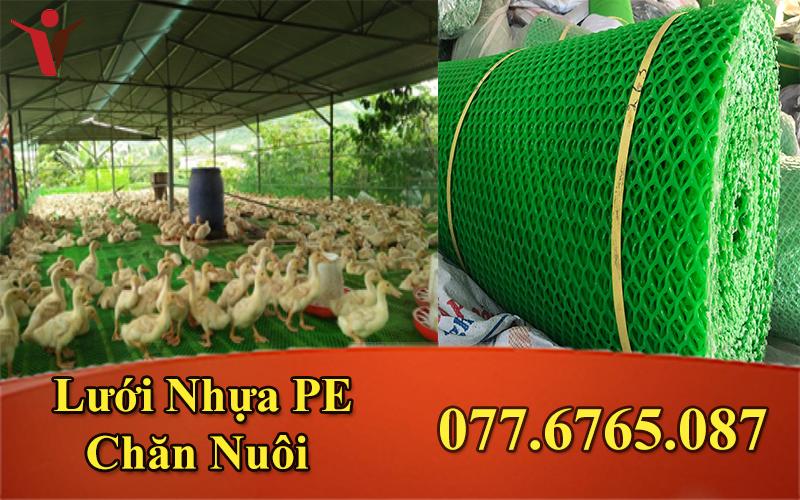 Lưới Nhựa PE Xanh Trung 1.2M/1P ( 38 - 43 Kg)
