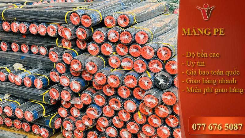 Màng PE đen 2 zem khổ 2M × 250M( Cuộn)