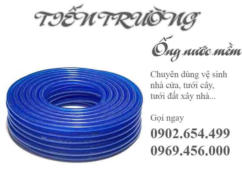 Ống nước dẻo xanh dương phi 16