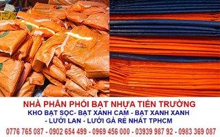 Nhà phân phối bạt xanh cam tại Tp Hồ Chí Minh