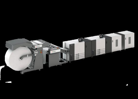 Máy in phun RISO VALEZUS T2100, tốc độ in 320 ppm 2 mặt và 160 ppm 1 mặt