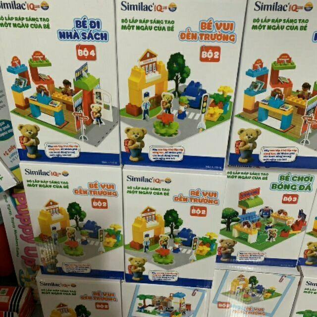 Lego 4 chủ đề hàng khuyến mãi từ Similac