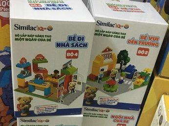 Set Lego 4 chủ đề hàng khuyến mãi từ Similac