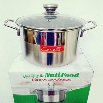 NỒI INOX CAO CẤP KHUYẾN MÃI TỪ NUTIFOOD