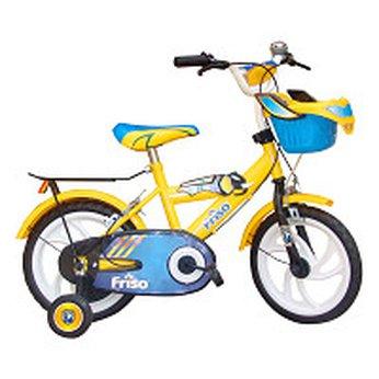 Xe Đạp Friso màu vàng 14 inch