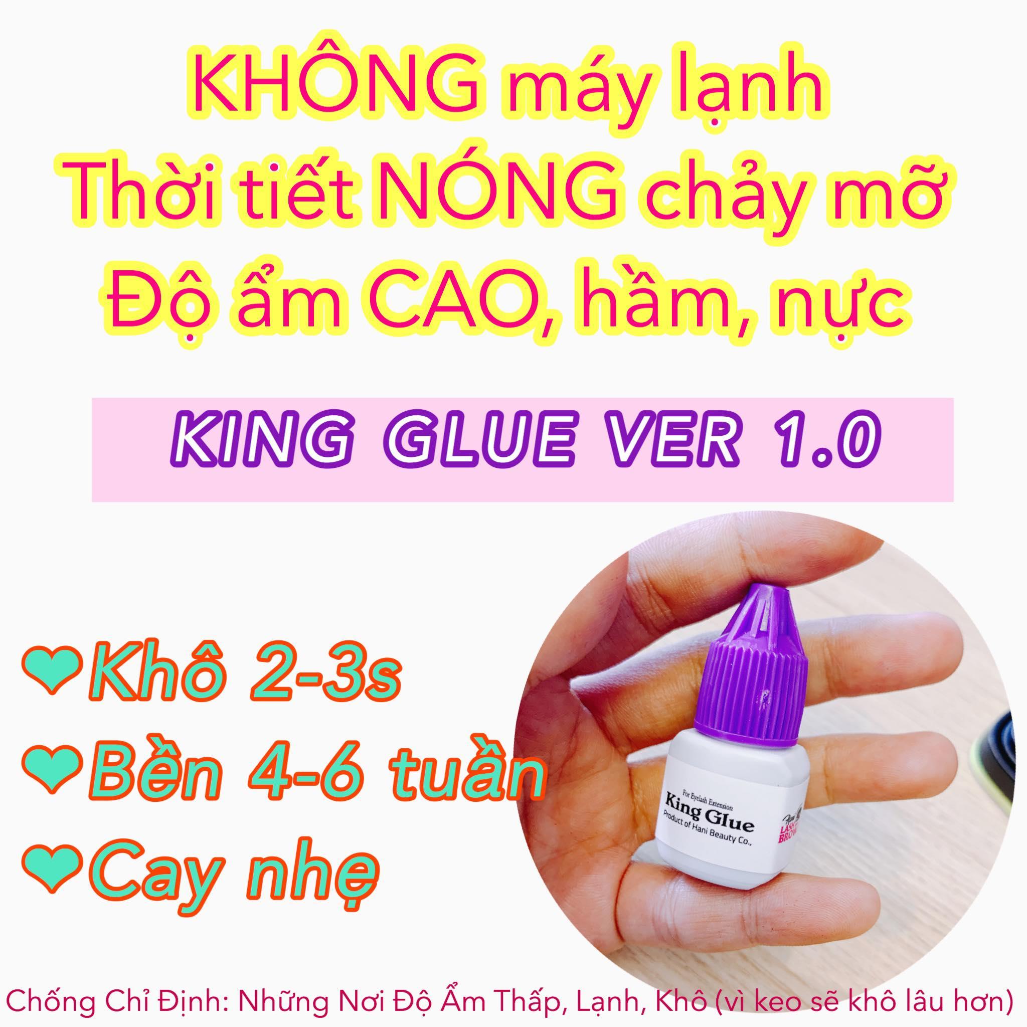 Keo nối mi khô chậm - Siêu Bền - Ít Cay - Nhập Khẩu Hàn Quốc 100%