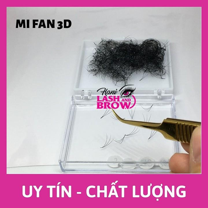Lông Mi Fan 3D - Mi Fan Sẵn - Siêu Đen - Dễ Bắt Keo - Nhập Khẩu 100%