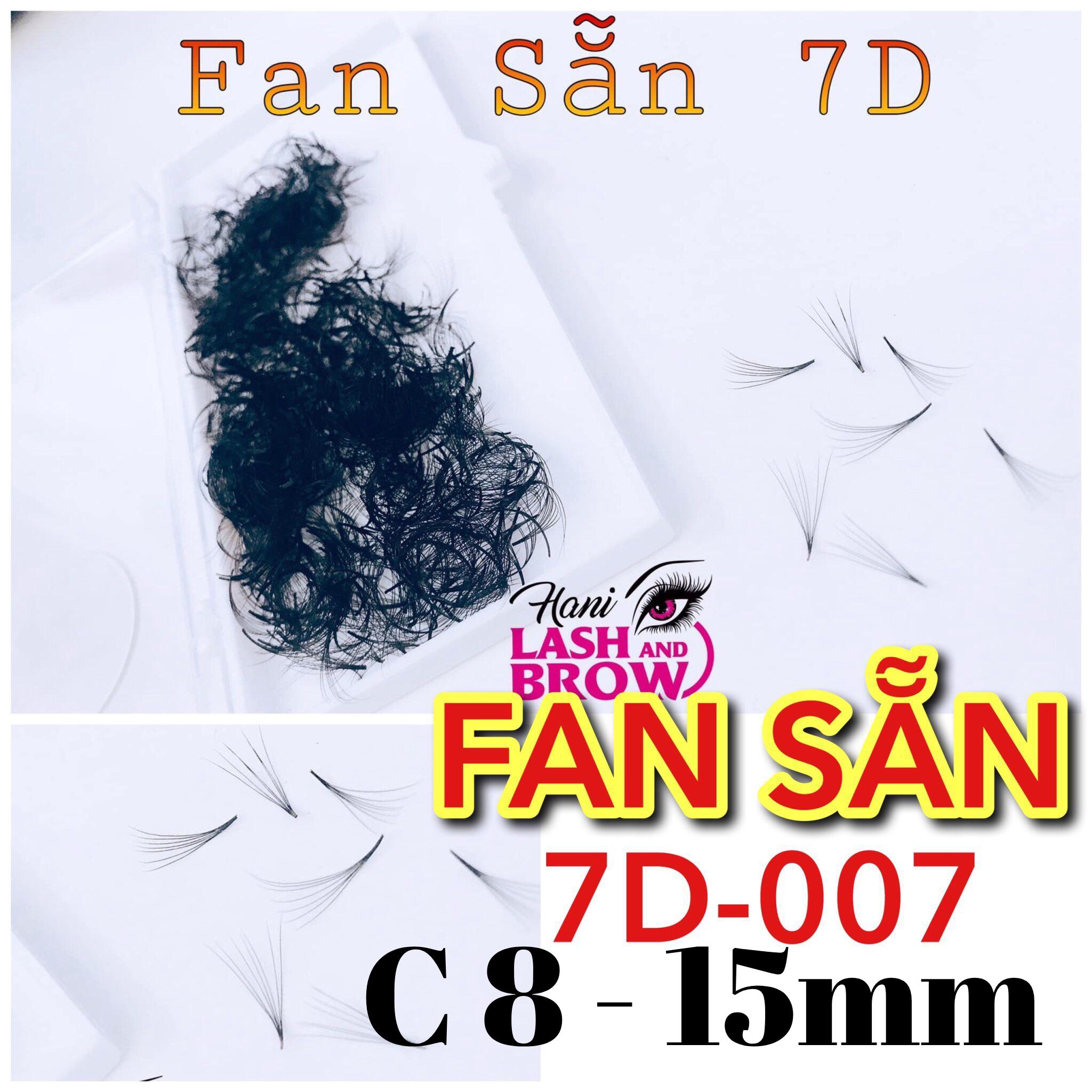 Mi Fan Sẵn 7D - Lông Mi Fan - Siêu Đen - Dễ Bắt Keo - Nhập Khẩu 100%