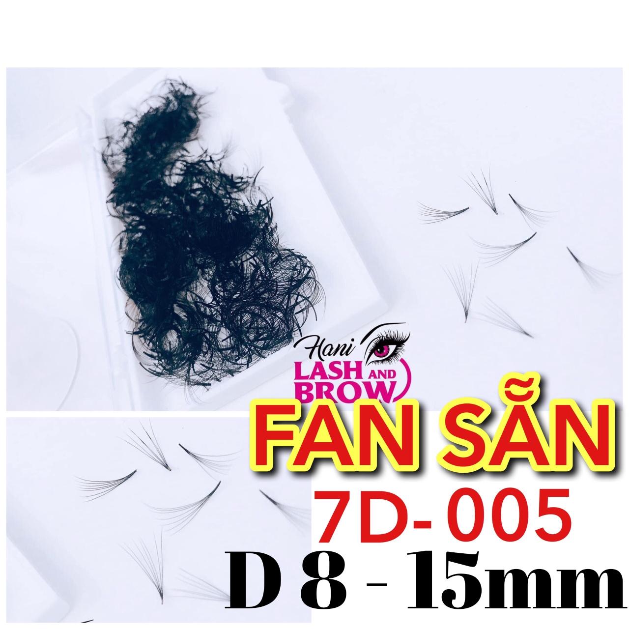 Mi Fan Sẵn 7D ( C0058-15mm) Siêu Đen - Dễ Bắt Keo - Nhập Khẩu 100%