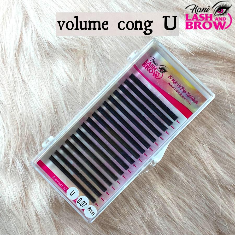 MI DF CONG U - Độ cong đặc biệt - Siêu Đen - Dễ Bắt Keo   Hani Beauty