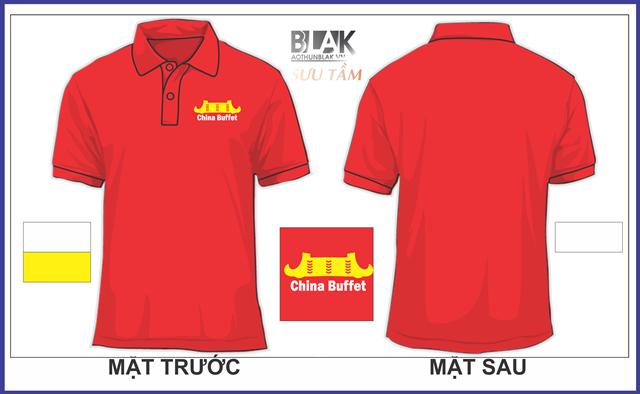 Mẫu áo thun đồng phục quán