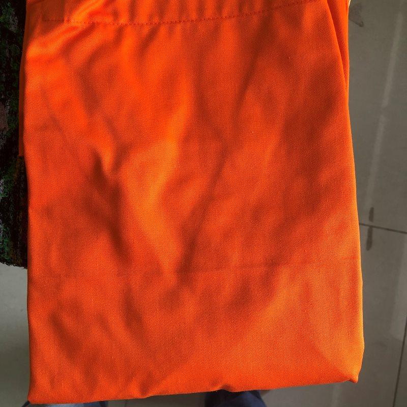 Mẫu tạp dề màu cam