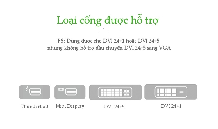 Cáp chuyển Mini Displayport to DVI Ugreen 10402
