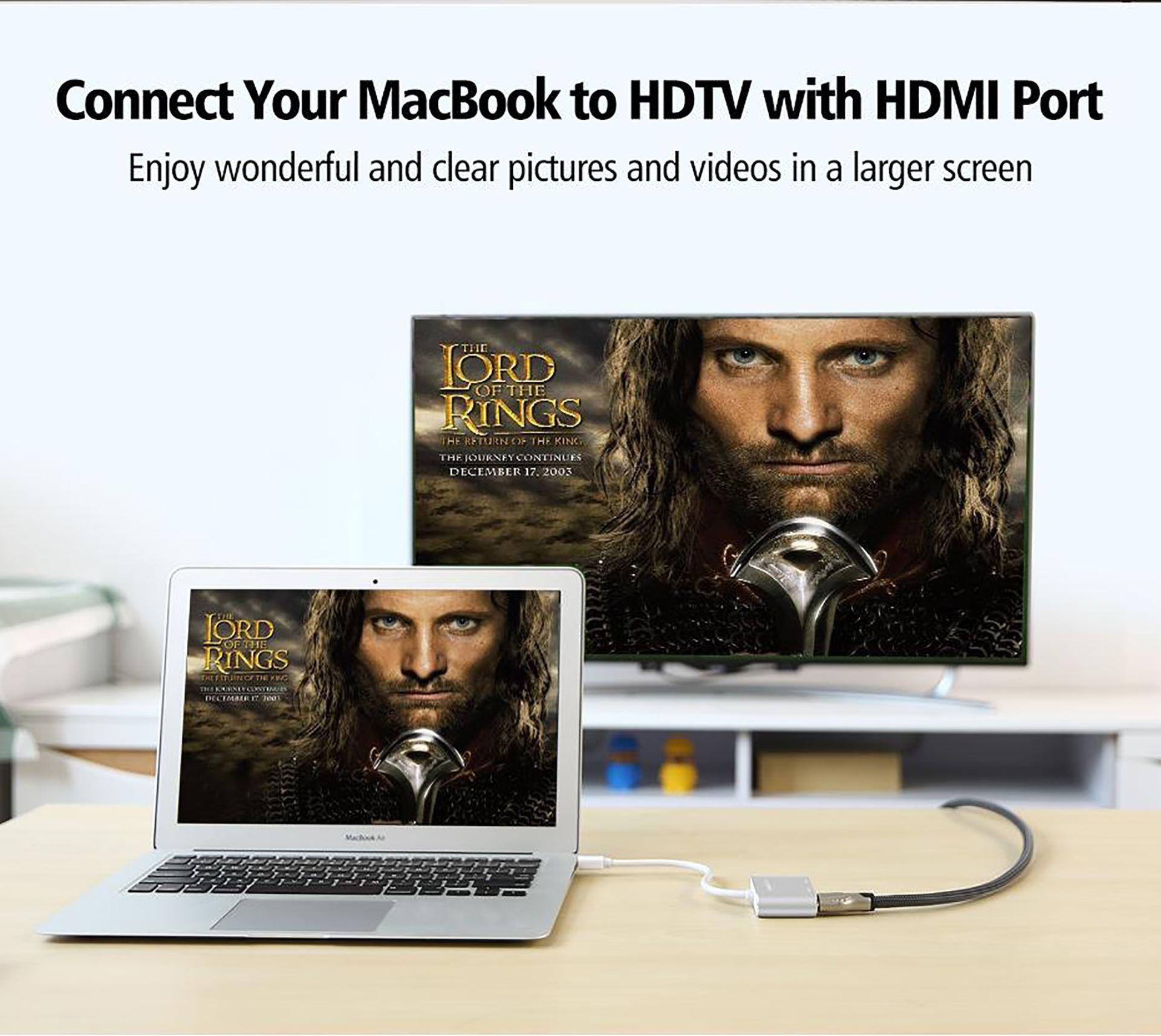 Cáp chuyển Mini Displayport to HDMI/ VGA Ugreen 20422