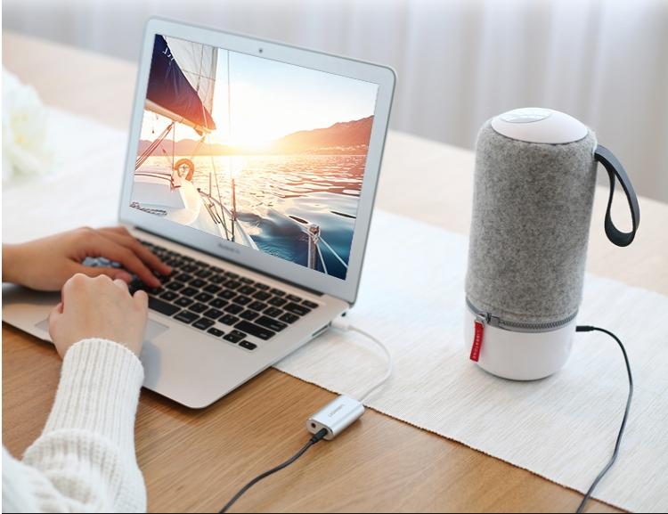 Cáp chuyển USB 2.0 sang3.5mm Ugreen 30801