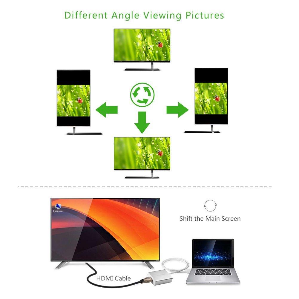 Cáp chuyển USB 3.0 to HDMI ugreen 40229