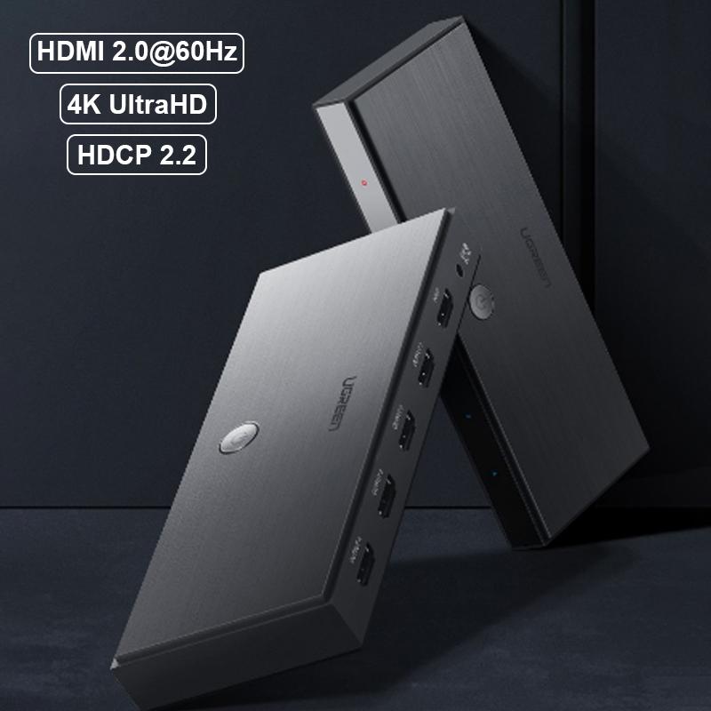 Bộ chia HDMI 2.0 4K60Hz 1 ra 4 Ugreen 50708