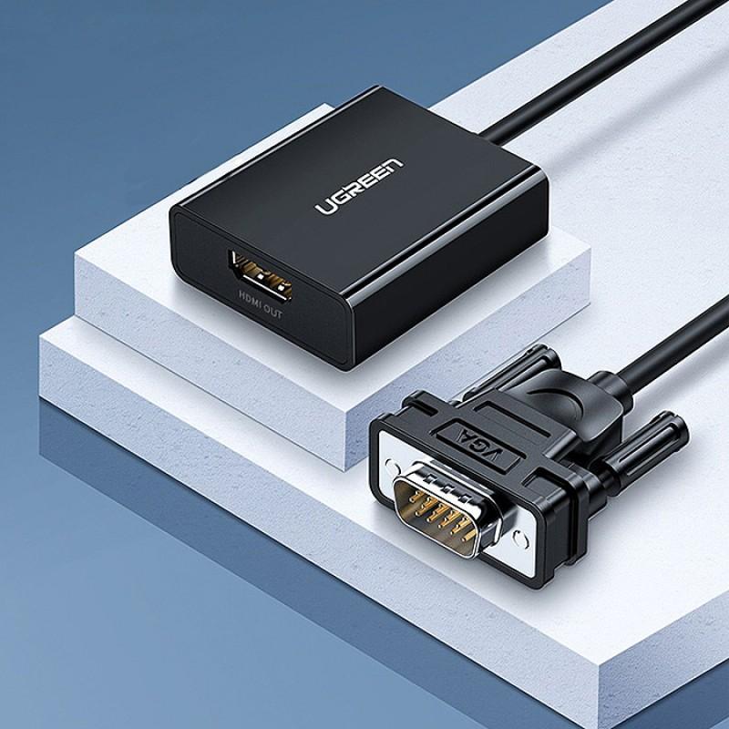 Cáp chuyển VGA sang HDMI Ugreen 60814