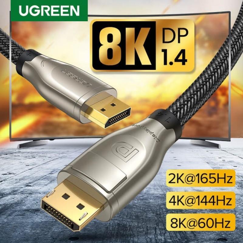 Cáp Displayport 1.4 dài 1m hỗ trợ 8K60Hz Ugreen 60842
