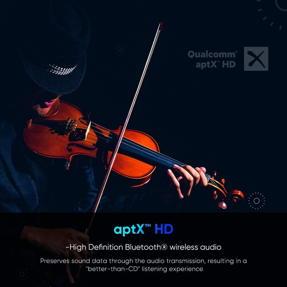 Bộ thu phát Bluetooth 5.0hỗ trợ APTX Ugreen 70158