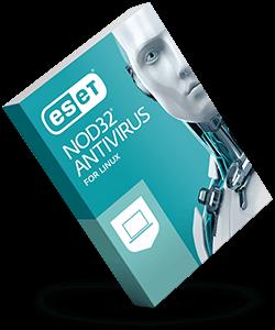 ESET NOD32 ANTIVIRUS FOR LINUX DESKTOP 3 User 1 Year