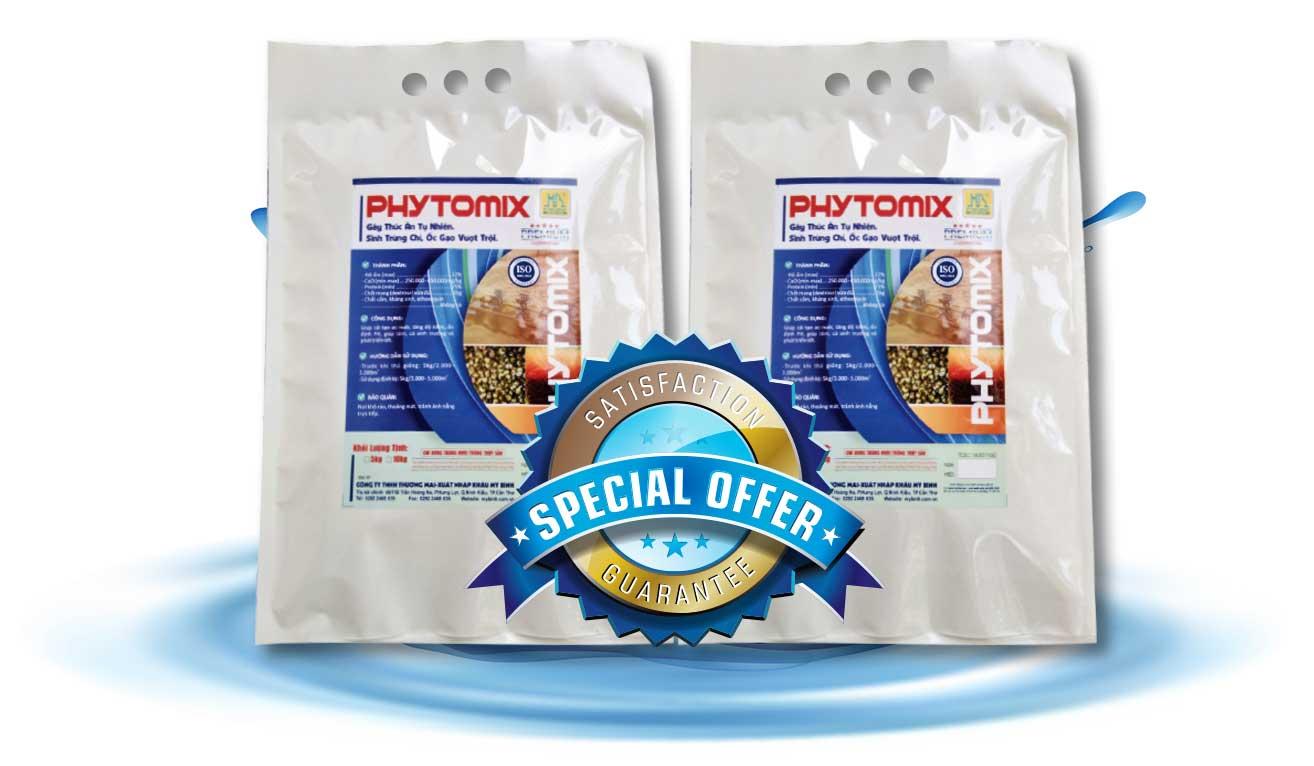 PHYTOMIX - Cách gây thức ăn tự nhiên cho tôm