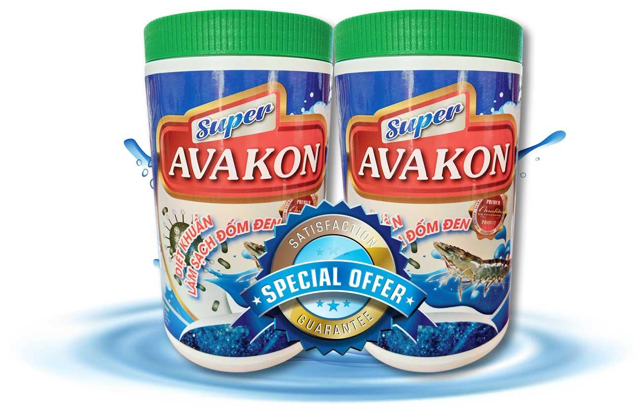 AVAKON - Trị đốm đen cho tôm hiệu quả