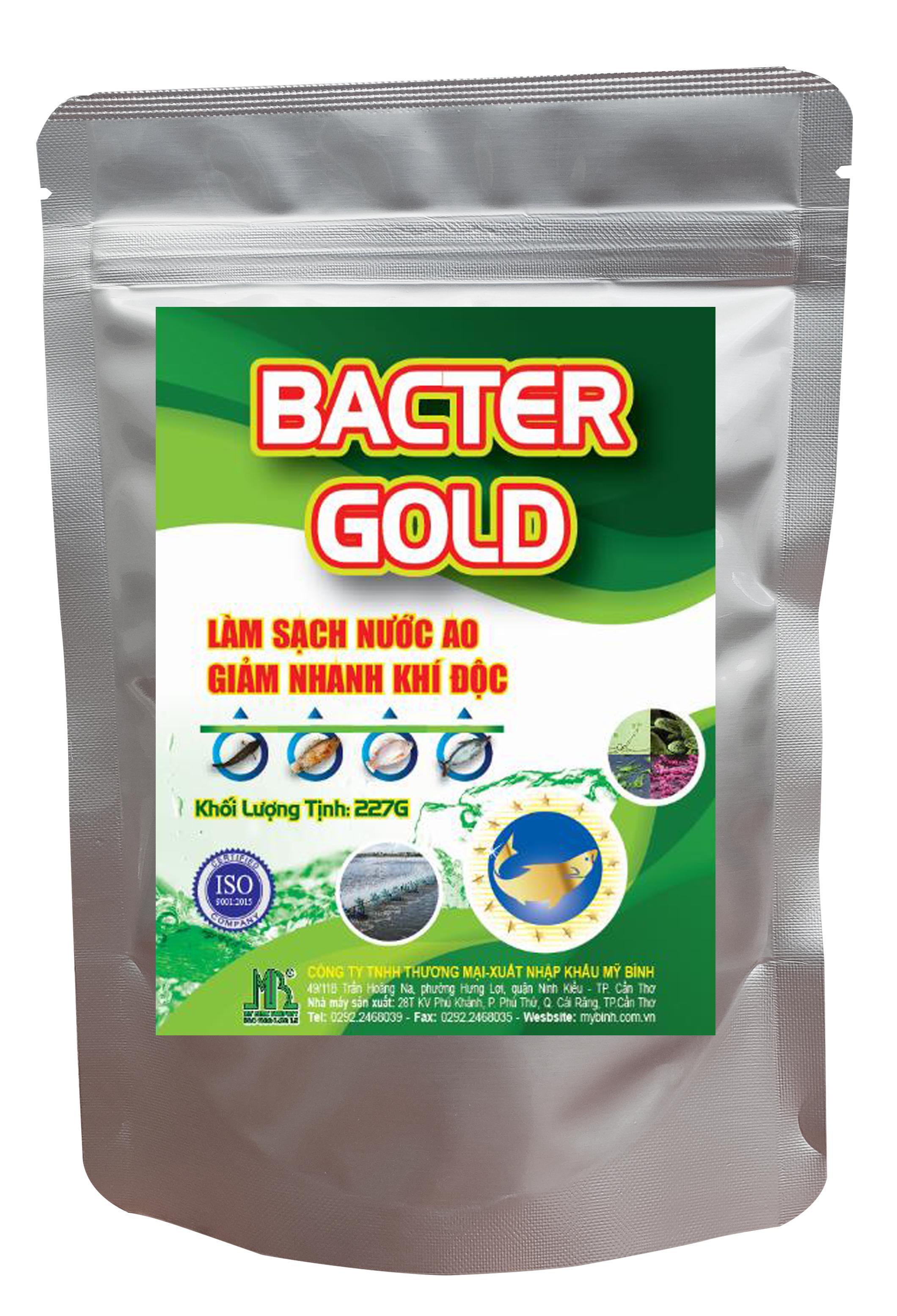 BACTER GOLD - Làm sạch nước ao giảm nhanh khí độc trong ao cá