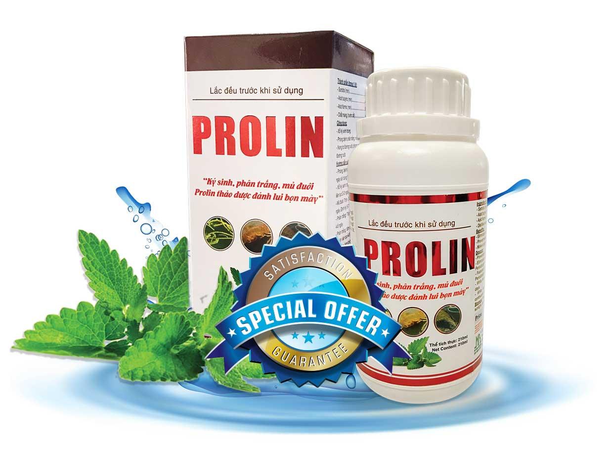 PROLIN - Thảo dược đặc trị phân trắng trên tôm