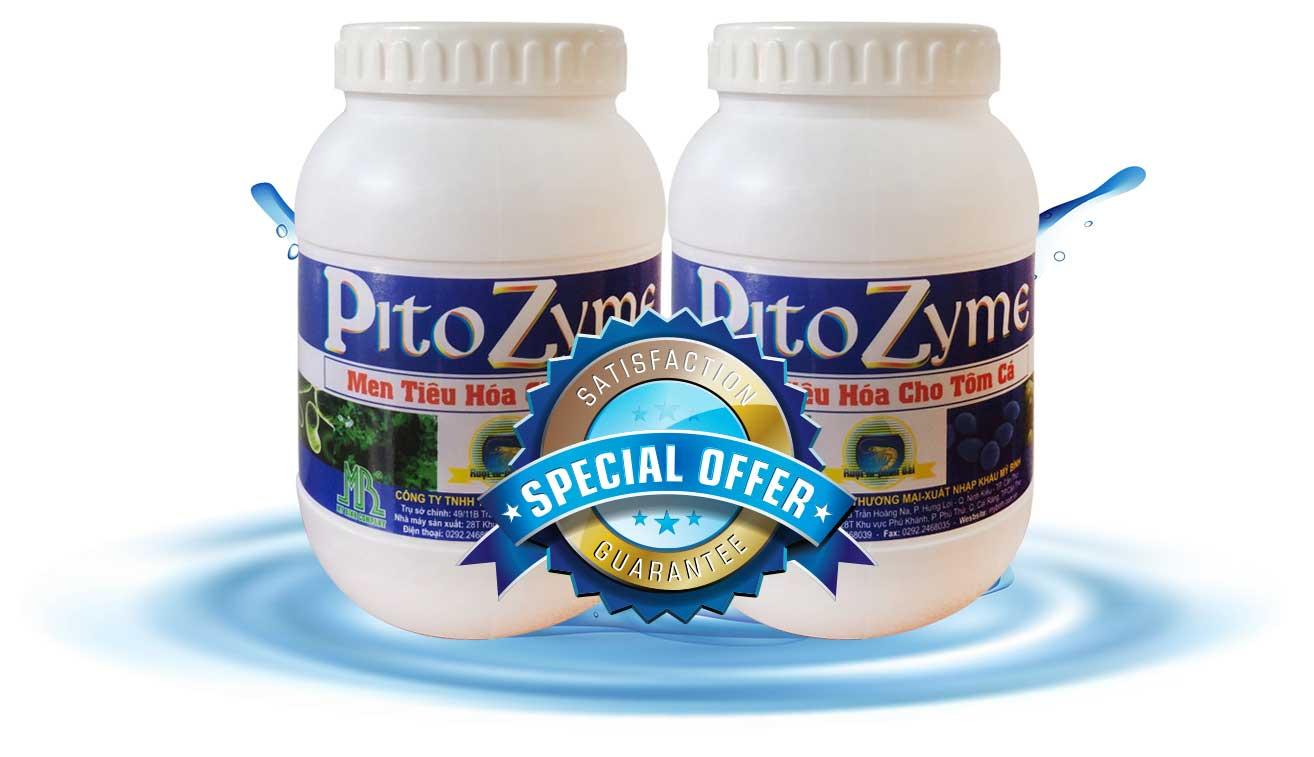 Pito Zyme - Men tiêu hóa trị bệnh đường ruột cho tôm